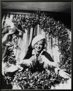 Bette Davis Christmas Wreath