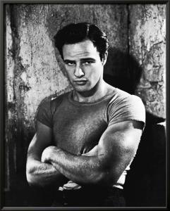 Marlon Brando in A Streetcar Named Desir