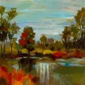 Hidden Pond Hues I