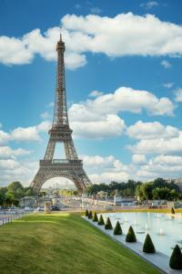 Eiffel Tower View III
