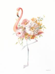 Floral Flamingo II