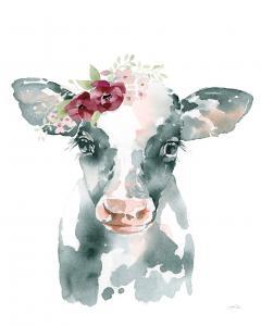 Floral Cow