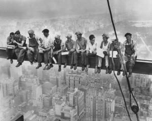 Lunchtime Atop a Skyscraper, 1932