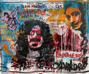 Frank Zappa / Dali