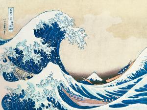 Die große Welle von Kanagawa