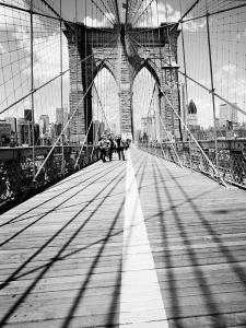 Brooklyn Bridge Tower and Cables #1
