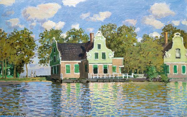 Häuser am Wasser (Zaandam)