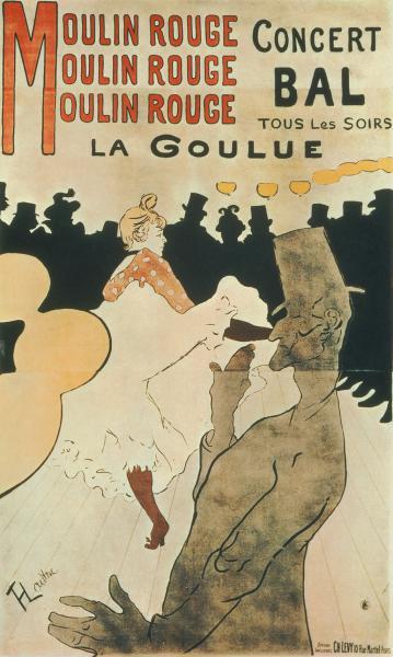 La Goulue au Moulin Rouge