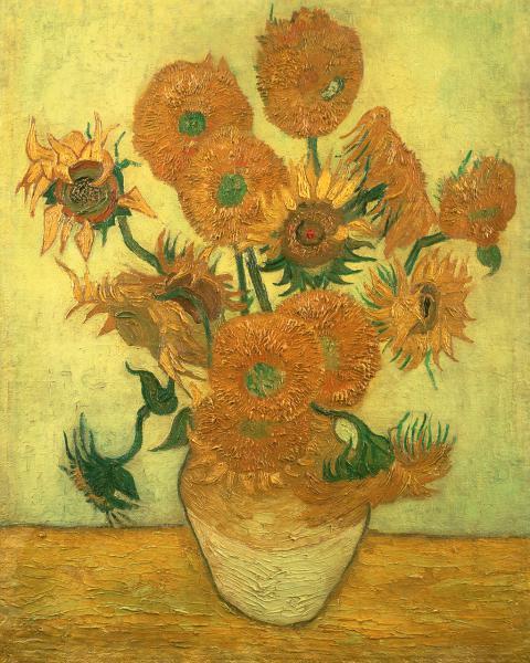 Vierzehn Sonnenblumen 1889