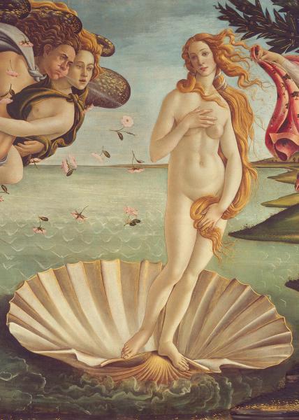 Geburt der Venus (Detail)