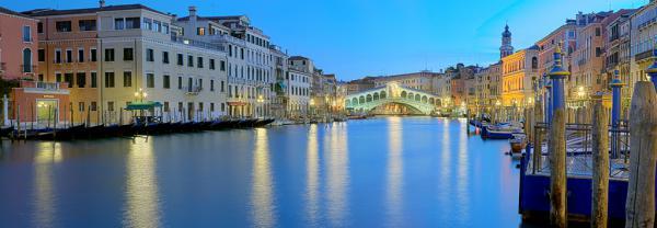 Venedig Rialto Brücke