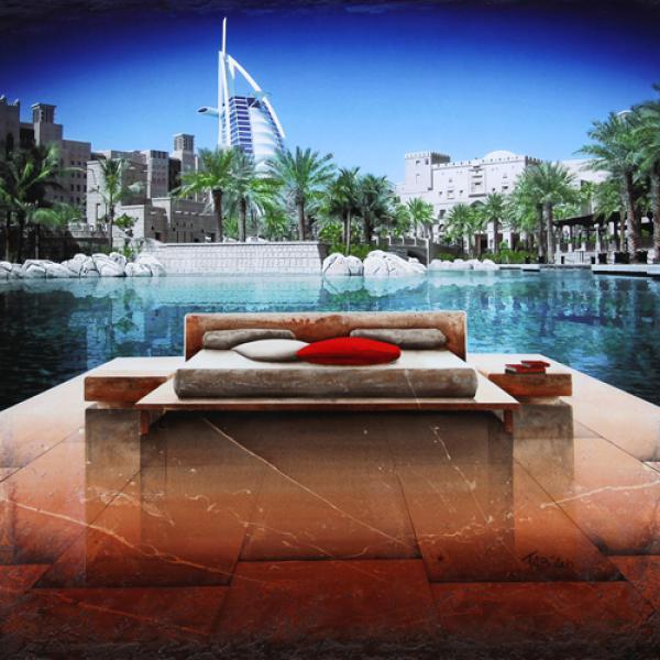 Beautiful View of Dubaï