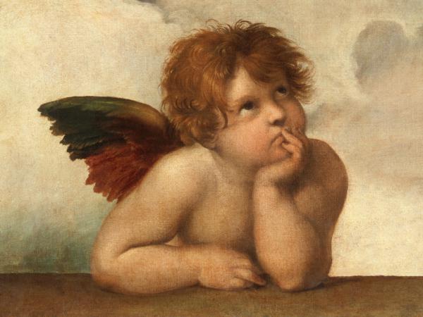 Die Sixtinische Madonna (Detail) III