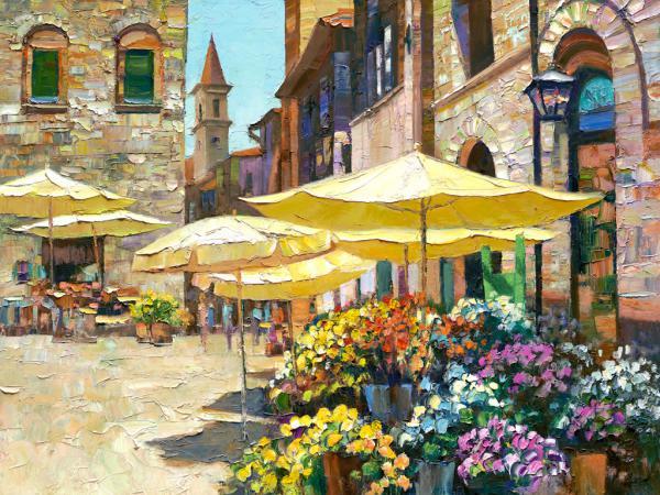 Sienna Flower Market