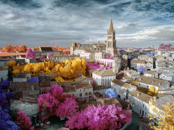 Surreal Vision of Saint-Emilion