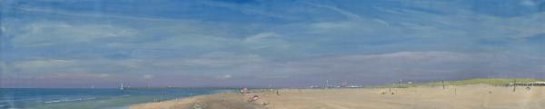 Panoramic View of South Beach and Scheve