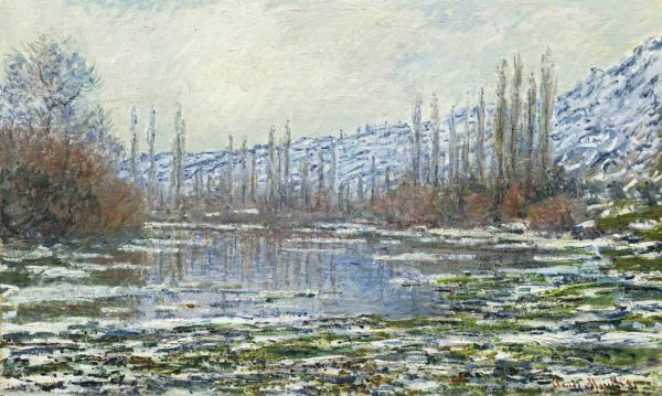 Das Tauwetter in Vétheuil, 1880