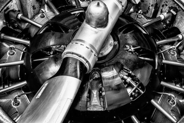 Propellor Engine close up 2