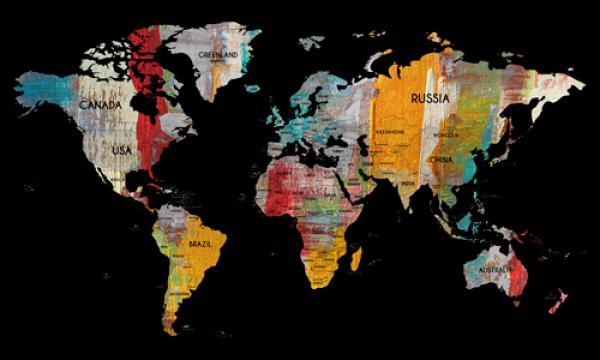 Worldmap in colors II