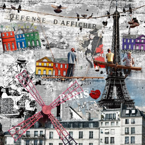 Impressions urbaines: Les peintres de Pa