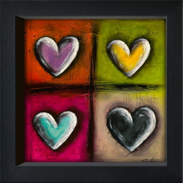 Coeurs en Couleurs I