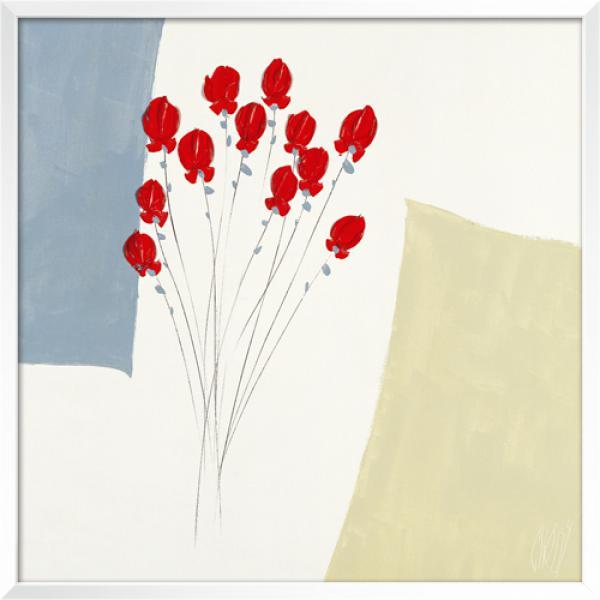 Les douze roses rouges