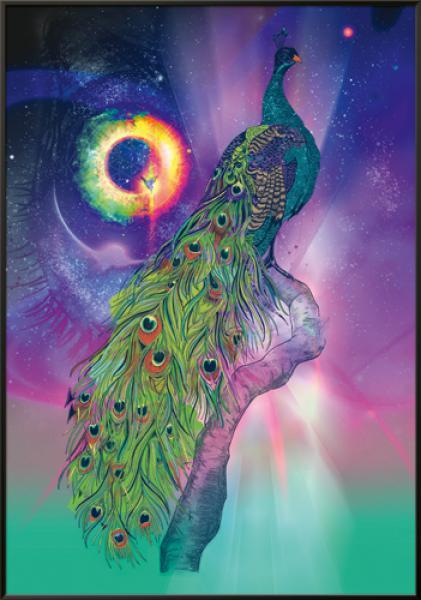 Cosmic Peacock