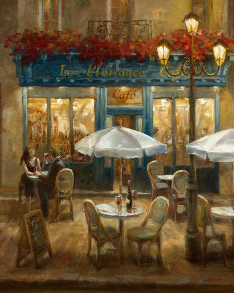 Paris Cafe I Crop