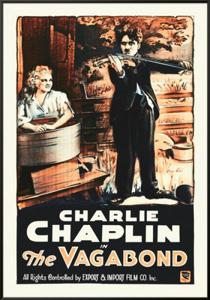 Charlie Chaplin - French - The Vagabond,