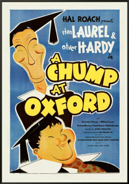 Laurel & Hardy - A Chump At Oxford