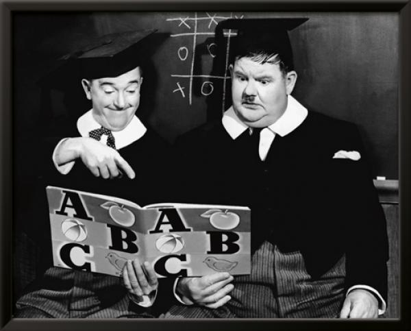 Laurel & Hardy - Chump at Oxford, 1940