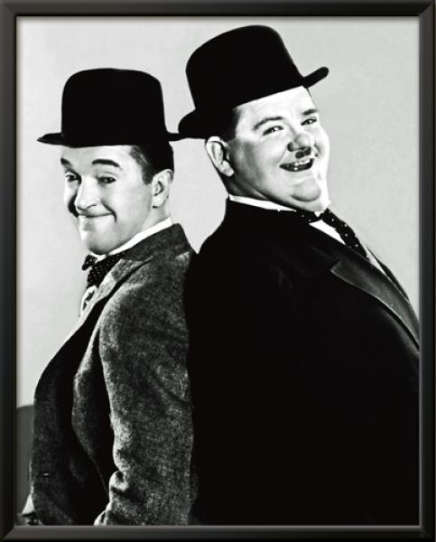 Laurel & Hardy - Portrait, 1933