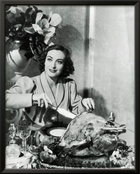 Thanksgiving - Joan Crawford