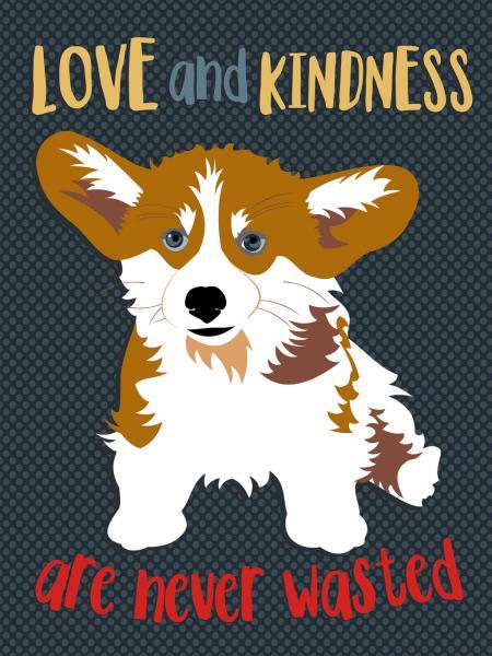 Corgi Love and Kindness