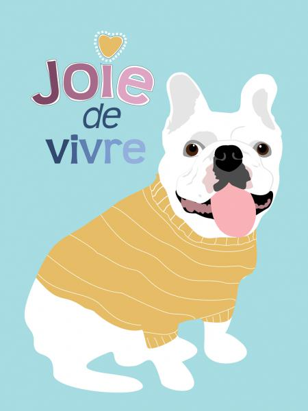 French Bulldog Joie de vivre