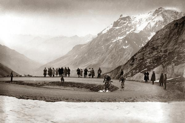 Snow in the Galibier, 1924