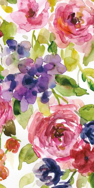 Watercolor Cascade III