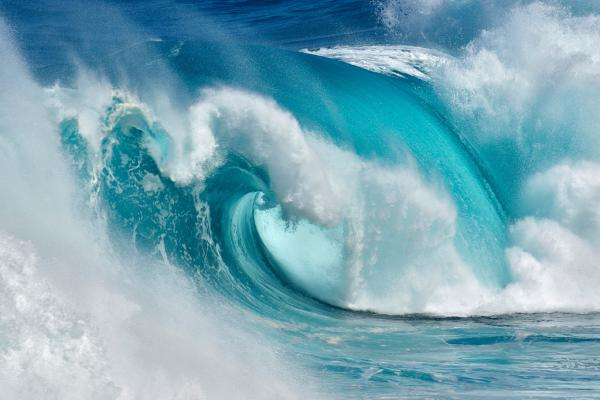 When the Ocean turns into Blue Fire