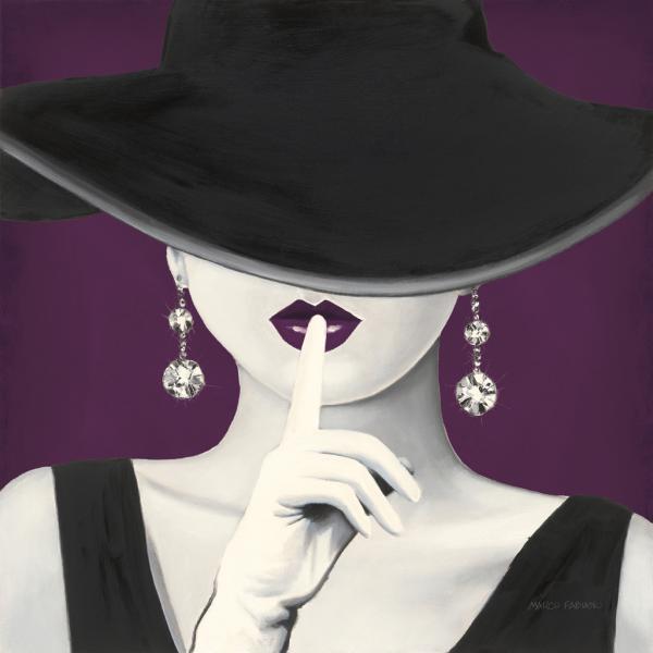Haute Chapeau Purple I V2