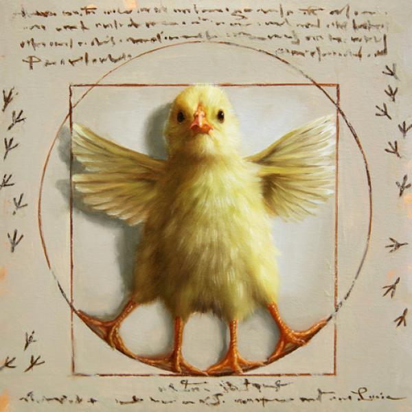 Vitruvian Chick