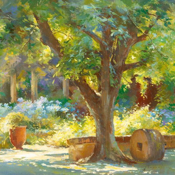 Jardin - Le Prieuré