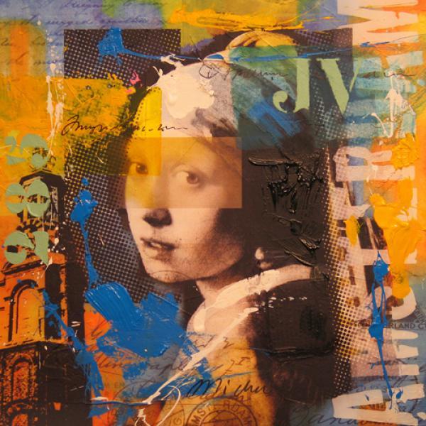 Girl pearl - Vermeer