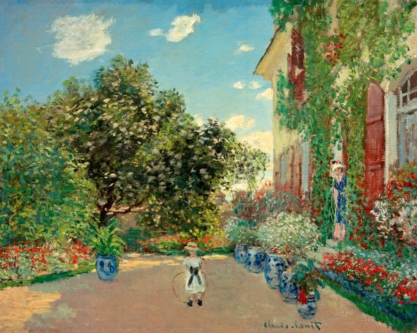Haus des Künstlers in  Argenteuil